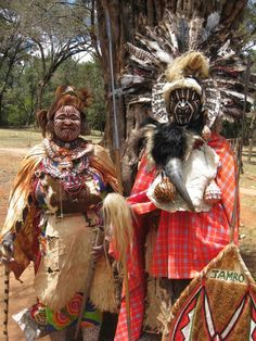 Traditional Kikuyu tribe members