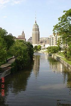 Tower Life Building in downtown San Antonio, Texas
