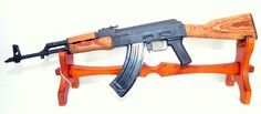 WASR-10 Semi-Automatic Rifle 7.62x39. Semi-automatic version of the Romanian AKM. Manufactured from stamped metal, featuring chrome-lined barrels, side-mount scope rail and wooden stock. With removable bayonet. Imported by CAI, GA. $599.99