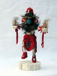 Native American Kachina Doll Star
