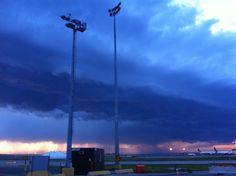 Calgary airport...yikes!