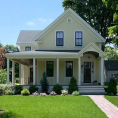Farm House With Wrap Around Porch Design, Pictures, Remodel, Decor and Ideas