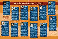 Learn about our American Catholic Saints with this graphic and visit Camp Catholic to learn more about sainthood! http://cathext.in/2990ii0