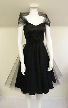 The classic black dress