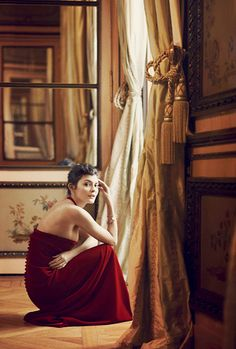 "mabellonghetti: "" ""Audrey Tautou photographed by Joe McGorty for Glass magazine, 2010 "" """