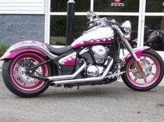Pink Harley #HDNaughtyList