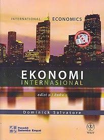 EKONOMI INTERNASIONAL EDISI 9 BUKU 1 – Dominick Salvatore
