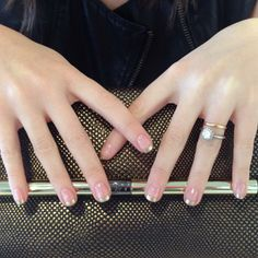 Muc's Nail  Gold french tips