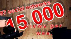 15000 views per week