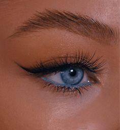 Edgy Makeup, Makeup Eye Looks, Eye Makeup Art, Cute Makeup, Pretty Makeup, Simple Makeup, Skin Makeup, Makeup Inspo, Natural Makeup