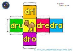 38 Ideas De Cubos De Silabas Silabas Enseñanza De Las Letras Aprender Silabas