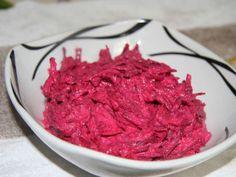 Cviklový šalát • Recept | svetvomne.sk Raspberry, Cabbage, Salads, Paleo, Fish, Meat, Fruit, Vegetables, Dressing
