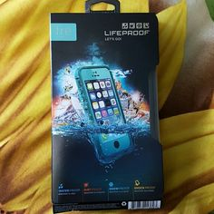Brand New Lifeproof Case (iphone 5/5s) Brand new, never used teal colored iphone 5/5s authentic Lifeproof Case. Bought this to replace my old, broken one and ended up getting a new phone. Price is firm, lowest I am willing to go is $70 because I never used this, only opened the box. Comes with the screen cleaner and aux connector. LifeProof Other