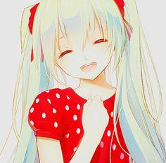 Vocaloid Miku Hatsune <3 #kawaii #cute #anime