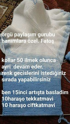 This Pin was discovered by fstThis post was discovered by hacer tünaydın. Discover (and save!) your own Posts on Unirazi. How To Start Knitting, Knitting For Kids, Free Knitting, Baby Knitting, Crochet Baby, Knitting Patterns, Ropa Free People, Baby Coat, Baby Cardigan