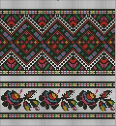 Українські традиційні орнаменти Ukrainian traditional ornaments (I gotta quit. I could spend days looking at this beautiful work. Just Cross Stitch, Cross Stitch Borders, Cross Stitch Charts, Cross Stitching, Cross Stitch Patterns, Folk Embroidery, Embroidery Patterns Free, Cross Stitch Embroidery, Butterfly Template