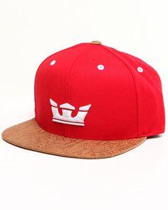 Supra Men Icon Starter Snapback Cap Red 1SZ