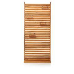 SELBER MACHEN!! Sichtschutz Lamellen, aus Holz Vorderansicht