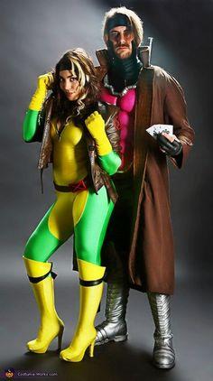X-Men: Rogue   Gambit - Paired Halloween Costume Ideas