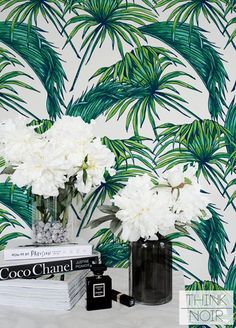 15 % Tropic Palm Leaf Wallpaper /Removable /Regular Palm Wallpaper /Leaf Wall Mural /Green Leaves Pattern Wall Covering / Self Adhesive Trendy Wallpaper, Of Wallpaper, Designer Wallpaper, Wallpaper Designs, Palm Leaf Wallpaper, Tropical Wallpaper, Pattern Wall, Wall Patterns, Wallpaper Material