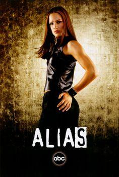 Alias- Jennifer Garner as Sydney Bristow