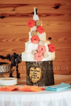 Forrest Pond Lodge-Chrystal & Lee's Dapper and Delicate Country Chic Wedding