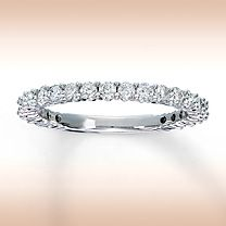 Picked out this band in May! Matches perfectly, though my diamonds are a tad larger on the band i chose.