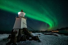 Lighthouse Aurora by Dominik Beedgen on 500px