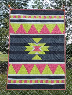 Aztec Summer quilt | by staceyomalley