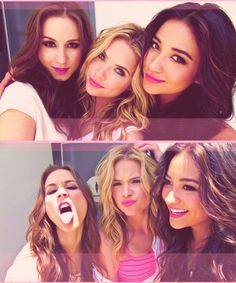 Troian Bellisario (Spencer Hastings) , Ashley Benson (Hanna Marin) , & Shay Mitchell (Emily Fields) - Pretty Little Liars
