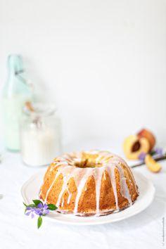Peach bundt cake recipe Pfirsich-Schmand-Kuchen