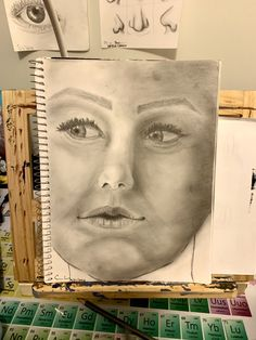 Week In Focus: Self Portrait Portrait Sketches, One Image, Realistic Drawings, Big Challenge, Drawing Lessons, Reference Images, A Cartoon, Look In The Mirror, How To Look Pretty