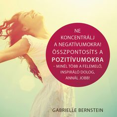 Gabielle Bernstein #idézet | A kép forrása: Édesvíz Kiadó Gabrielle Bernstein, Carrie Bradshaw, Daily Inspiration, Life Quotes, Cover, Books, Movie Posters, Quotes About Life, Quote Life