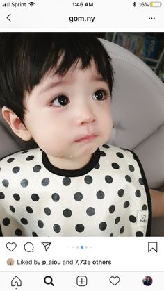 Ulzzang kid😍 - Ulzzang kid😍 You are in the right place about kids one piece Here we offer you the most beautifu - Cute Baby Boy, Cute Little Baby, Little Babies, Baby Kids, Cute Asian Babies, Korean Babies, Asian Kids, Cute Kids Pics, Cute Baby Pictures