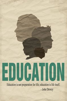 Decorative education quote poster - male silhouettes - brown, tan, or Philosophy Of Education, Education Quotes For Teachers, Quotes For Students, Quotes For Kids, Teacher Resources, Online Degree Programs, Classroom Quotes, Classroom Setup, Future Classroom