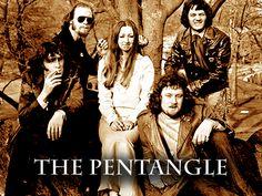 PENTANGLE formed in 1967 inspired by Bert and John, a collaborative album by folk musicians Bert Jansch and John Renbourn. Vocalist Jacqui McShee,