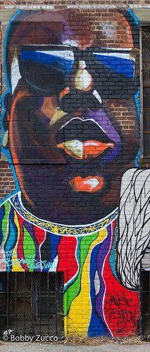Biggie Street art Brooklyn NYC www.eastcoastlifestyle.com