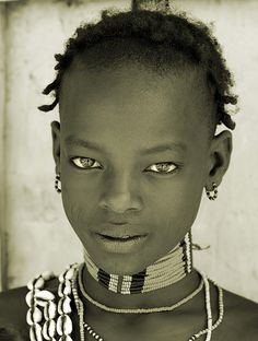 Ethiopia, young man of Banna Tribe.