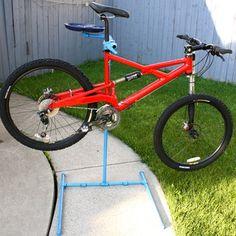 Steel Pipe Bike Repair Stand