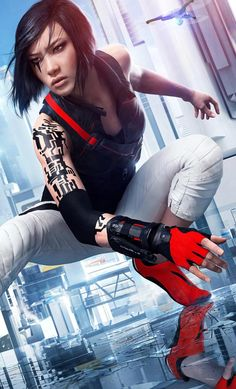 Games wallpapers | Mirrors Edge Catalyst Game | http://www.fabuloussavers.com/games-desktop-wallpapers.shtml