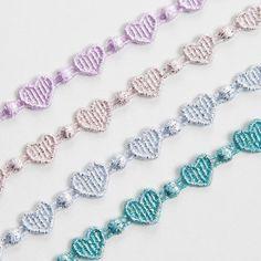 Cruciani Heartbeat bracelets
