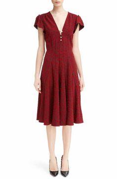 Altuzarra Camilla Dot Print Dress
