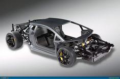 Lamborghini unveils v12 rolling chassis in advance of car s geneva