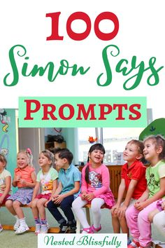 Simple Simon Says Games Commands, great for preschoolers and toddlers. Plus detailed instruction on how to play Simon says Cooking Games For Kids, Games To Play With Kids, Outdoor Games For Kids, Games For Toddlers, Games For Girls, Games For Little Kids, Children Games, Pe Activities, Preschool Games