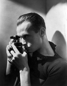Henri Cartier Bresson - self portrait
