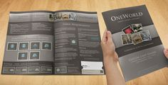 freelance New brochure design wanted for OneWorld Collection by Kent D