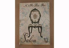 Canvas Print Paris Motif Salon