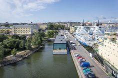 The floating office, Katajanokka, Helsinki 2013, Finland -- (the pin via Paula • https://www.pinterest.com/pin/359654720218204236/ )