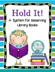Popular books often fly off the shelves causing students to wonder if they'll ever get a chance to read them. This system will allow students to place a hold on a book. Simply teach this procedure to your students at the beginning of the year to create an easy system to handle popular books.