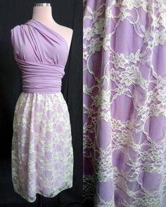 Lace Convertible Wrap Twist Knee Length Dress...68 Colors... Bridesmaids, Wedding, Valentines Day, Birthday Party, Honeymoon